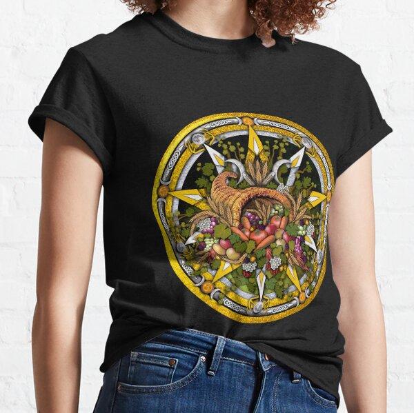 Sabbat Pentacle for Mabon the Autumnal Equinox Classic T-Shirt