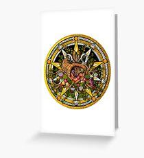 Sabbat Pentacle for Mabon the Autumnal Equinox Greeting Card