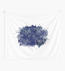 High Lady of the Night Court Wall Tapestry