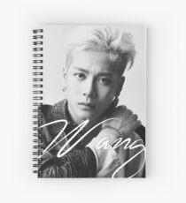 Jackson Wang Spiral Notebook