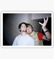 Bam Margera and Ryan Dunn Sticker Sticker