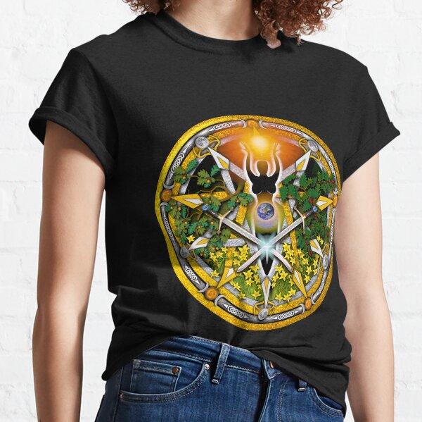 Sabbat Pentacle for Litha, the Summer Solstice Classic T-Shirt