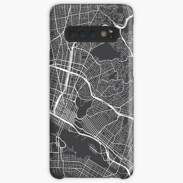 Oakland Karte, USA - Grau Samsung Galaxy Leichte Hülle