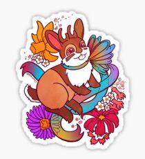 Springtime Jackalope Sticker