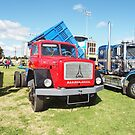 Magirus-Deutz 195D16 4WD Three Way Tipper by Joe Hupp