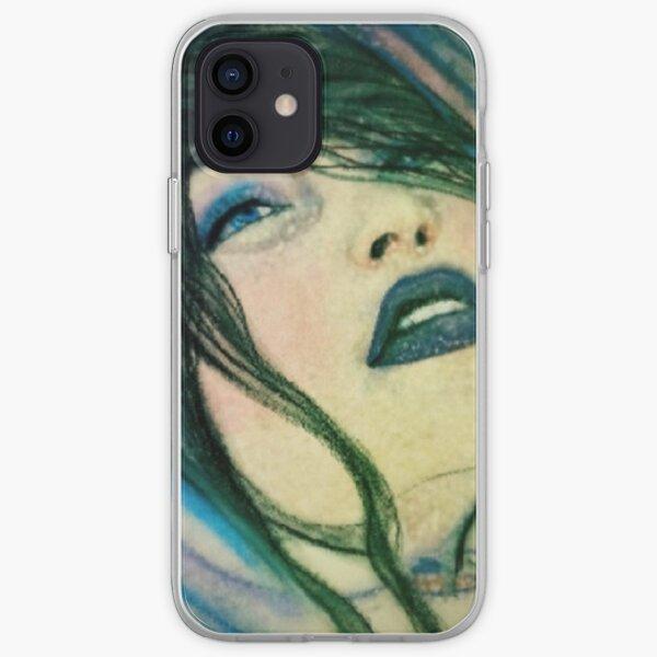 Blue Babushka iPhone Soft Case