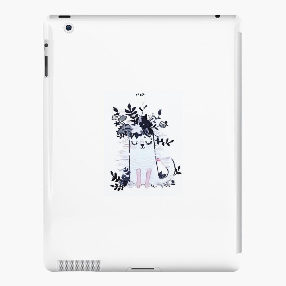 Pequeña mosca del gatito Funda y vinilo para iPad