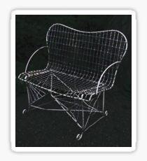The Wire Chair Sticker