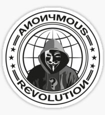 Anonymous Revolution Sticker