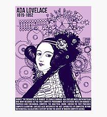 Lámina fotográfica Ilustrando grandes mentes - Ada Lovelace