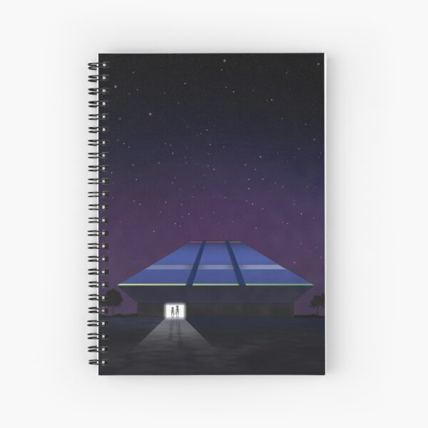 Horizons from EPCOT Center Spiral Notebook