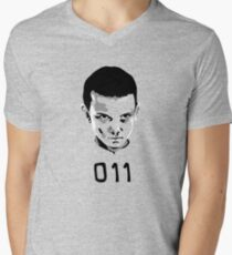 Eleven 11 Stranger Things Men's V-Neck T-Shirt