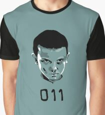 Eleven 11 Stranger Things Graphic T-Shirt