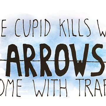 Some Cupid kills with arrows... by pinkbees