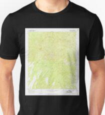 USGS TOPO Map Arizona AZ Willow Mtn 314130 1967 24000 Unisex T-Shirt