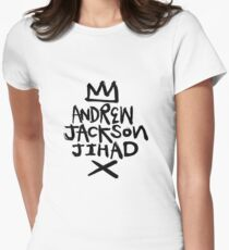 Andrew Jackson Jihad - Crown Womens Fitted T-Shirt