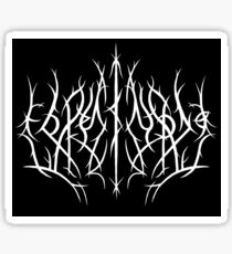 Roleystone Metal Logo Sticker