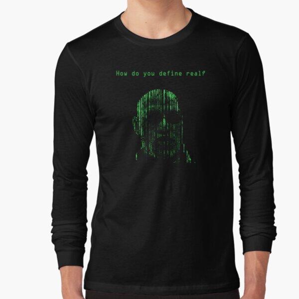 The Matrix Morpheus Code Long Sleeve T-Shirt