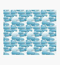 Layered Clouds Photographic Print