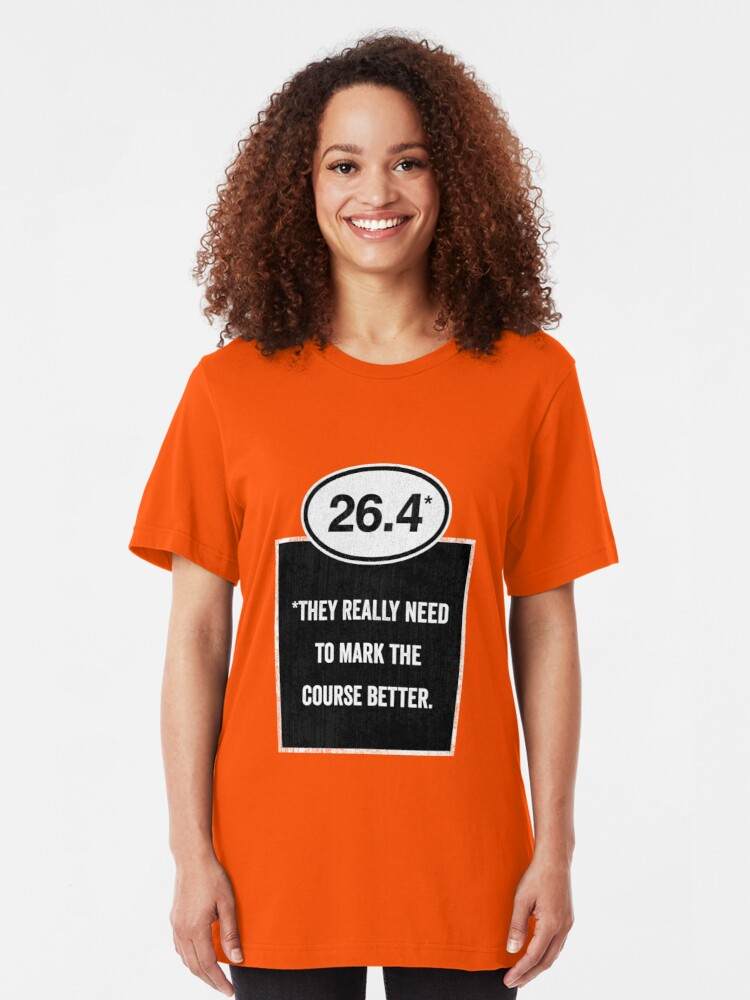 Alternate view of 26.4 - Mark the Course Slim Fit T-Shirt