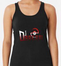 DJ Darkrai Logo Racerback Tank Top
