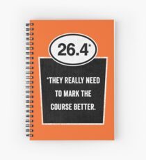 26.4 - Mark the Course Spiral Notebook