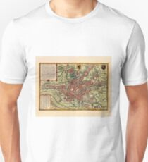 Map Of Ghent 1657 Unisex T-Shirt