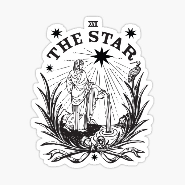 The Star Gazer Sticker
