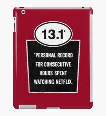 13.1 - Binge Watching Record iPad Case/Skin