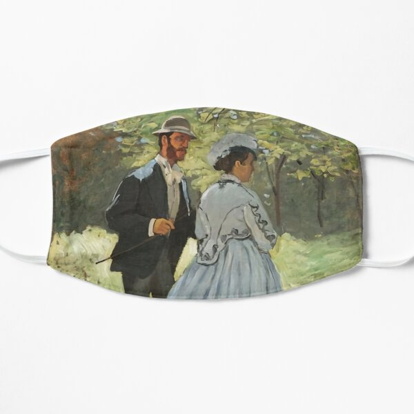 Bazille And Camille 1865 Flat Mask
