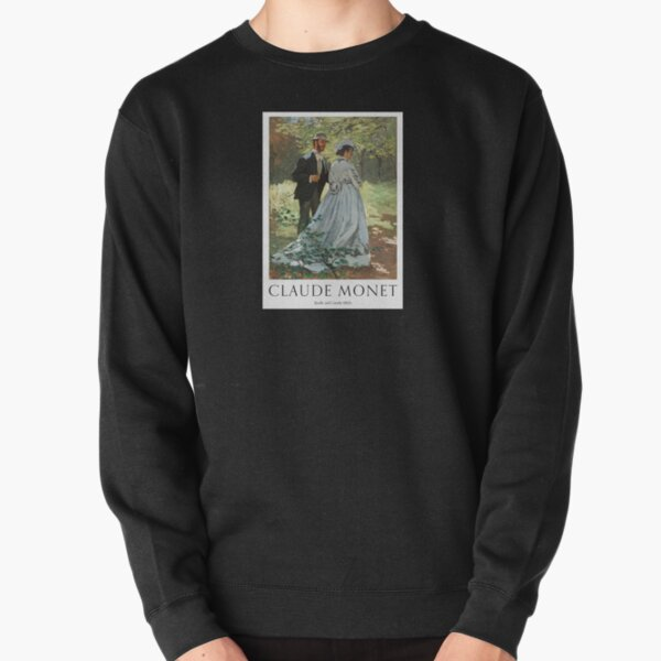 Bazille And Camille 1865 Pullover Sweatshirt