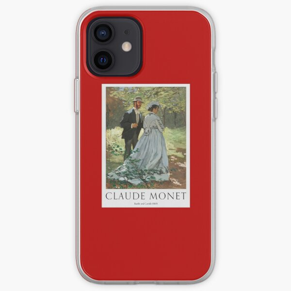 Bazille And Camille 1865 iPhone Soft Case