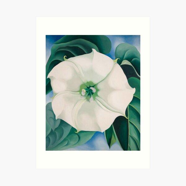 Georgia O'Keeffe, Jimson Weed, White Flower no 1 Art Print