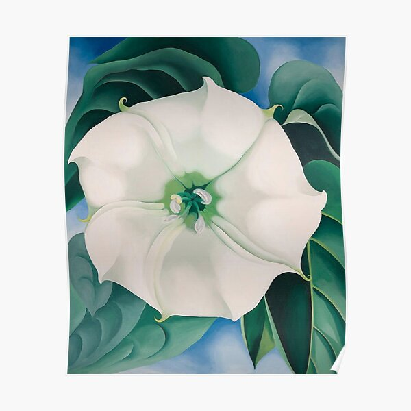 Georgia O'Keeffe, Jimson Weed, White Flower no 1 Poster