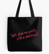 """""""gently"""" Tote Bag"""