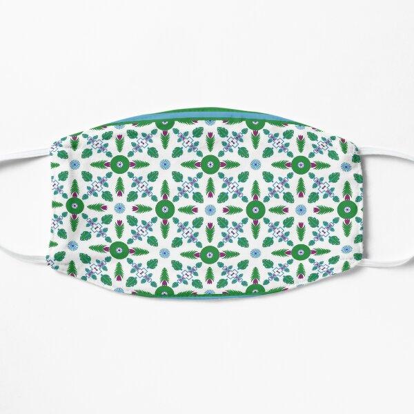 Ethnic pattern for textile, geometry shape. Flat Mask