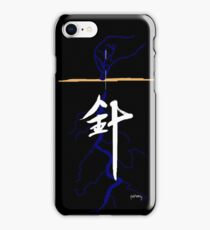 Acupuncture (traditional Chinese medicine) iPhone Case/Skin