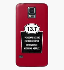 13.1 - Binge Watching Record Case/Skin for Samsung Galaxy