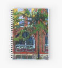 Red House in Gastown, Vancouver Spiral Notebook