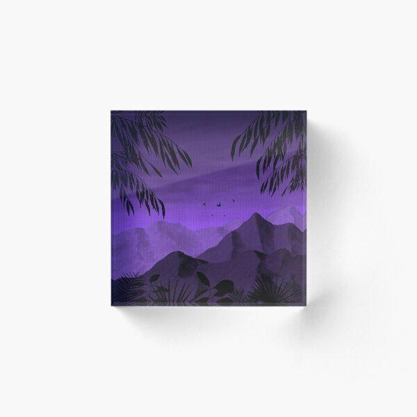 The Alien World  Acrylic Block
