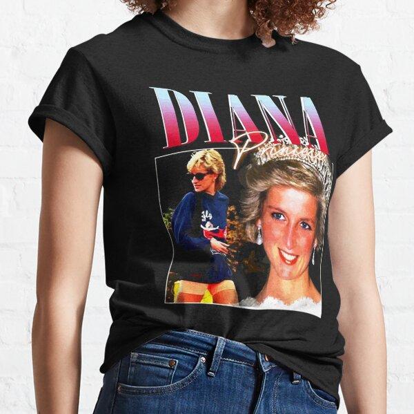 Official Merchandise PRINCESS DIANA Rap Hip Hop Princess Diana 90s Retro Vintage Classic T-Shirt