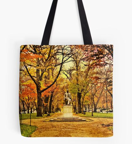 Commonwealth Ave in Boston Tote Bag