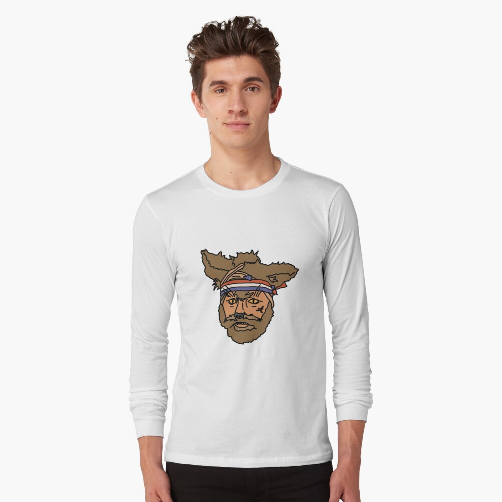 The Mighty Boosh, Crack Fox Long Sleeve T-Shirt Front