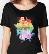 Floral Pride Women's Relaxed Fit T-Shirt