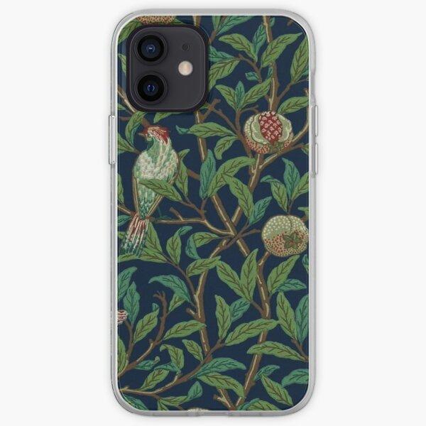 william Morris - bird & pomegranate iPhone Soft Case