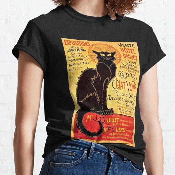 Le Chat Noir, Exposition particulière - 1896 Classic T-Shirt