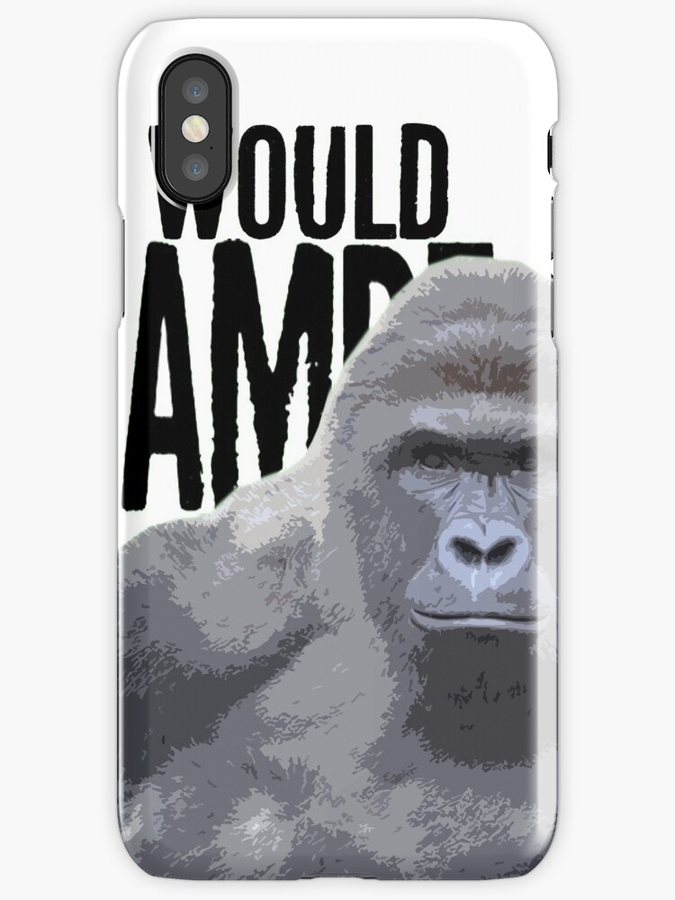 What would Harambe do? by SteveDildo