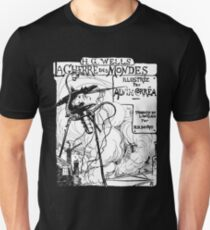 War of the Worlds 1906 Print Ad Illustration (Dark Garment) Unisex T-Shirt