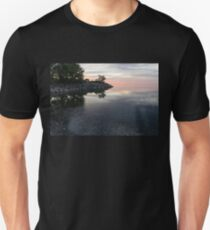 Soft Pinks and Purples - Silky Morning on Lake Ontario T-Shirt