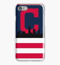 Cleveland Indians American Flag iPhone Case/Skin